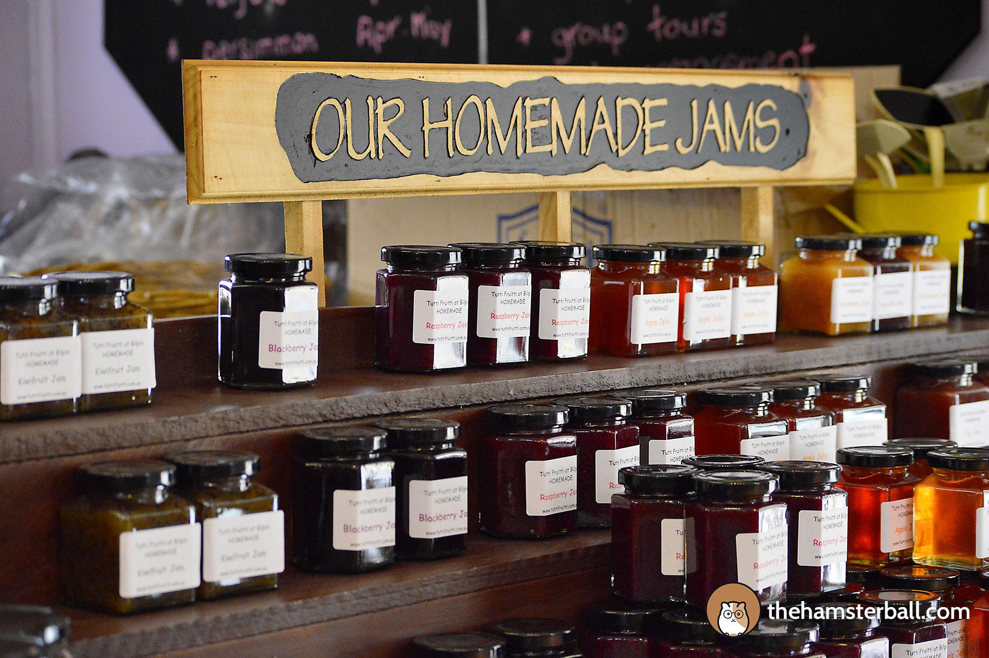 Tutti Fruitti, Tea, Homemade Jams, Bilpin, Blue Mountains, Australia