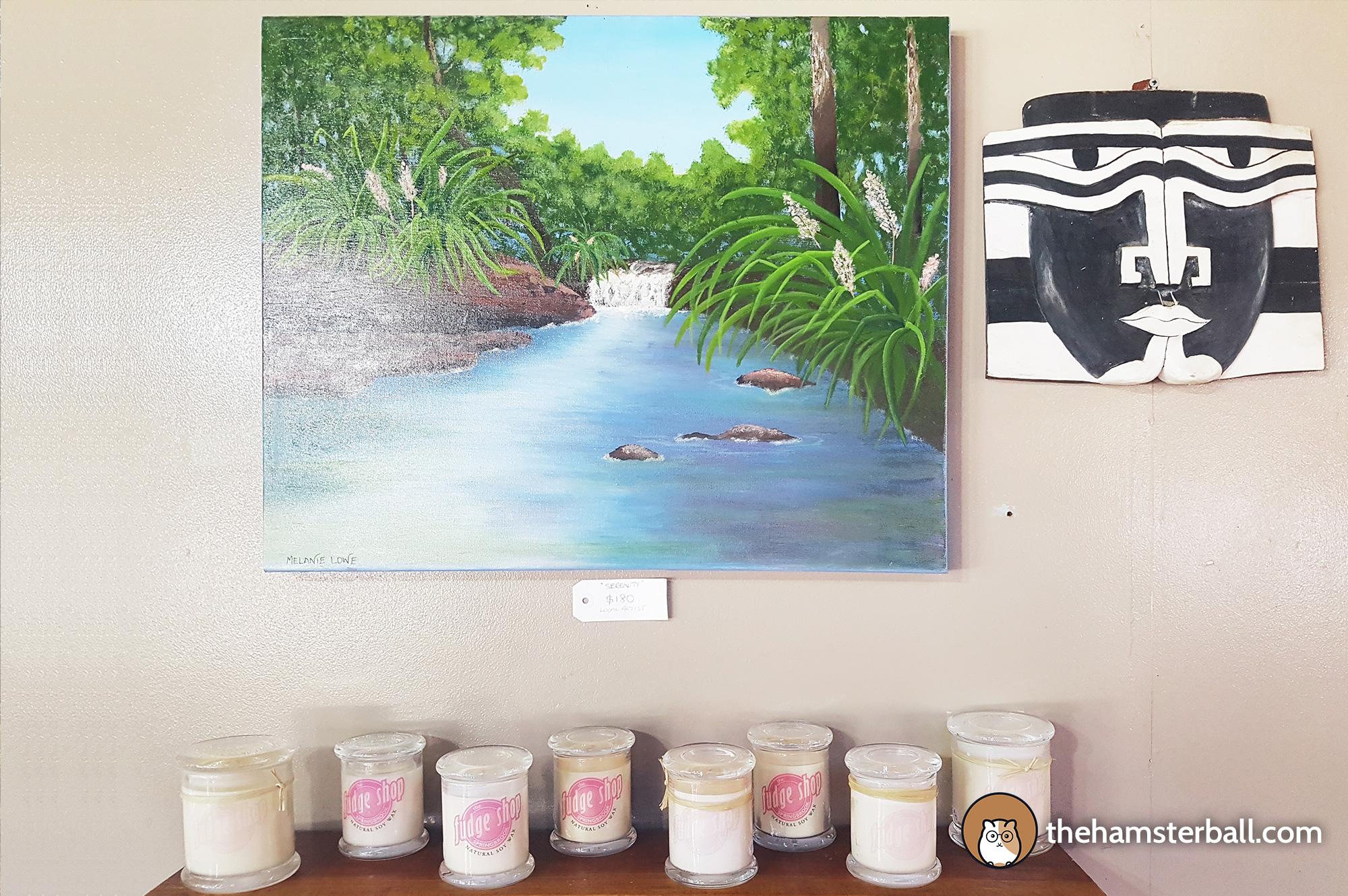 The Fudge Shop, Springbrook, Milly Davies, Art, Artist