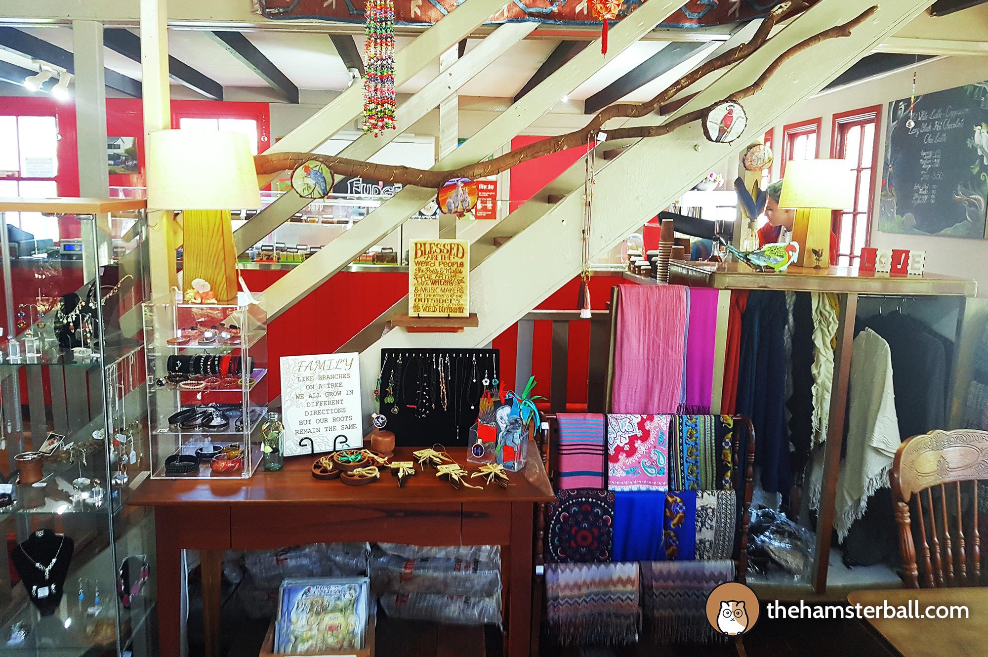 The Fudge Shop, Springbrook, Eco Sensitive, environment, colors, souvenirs