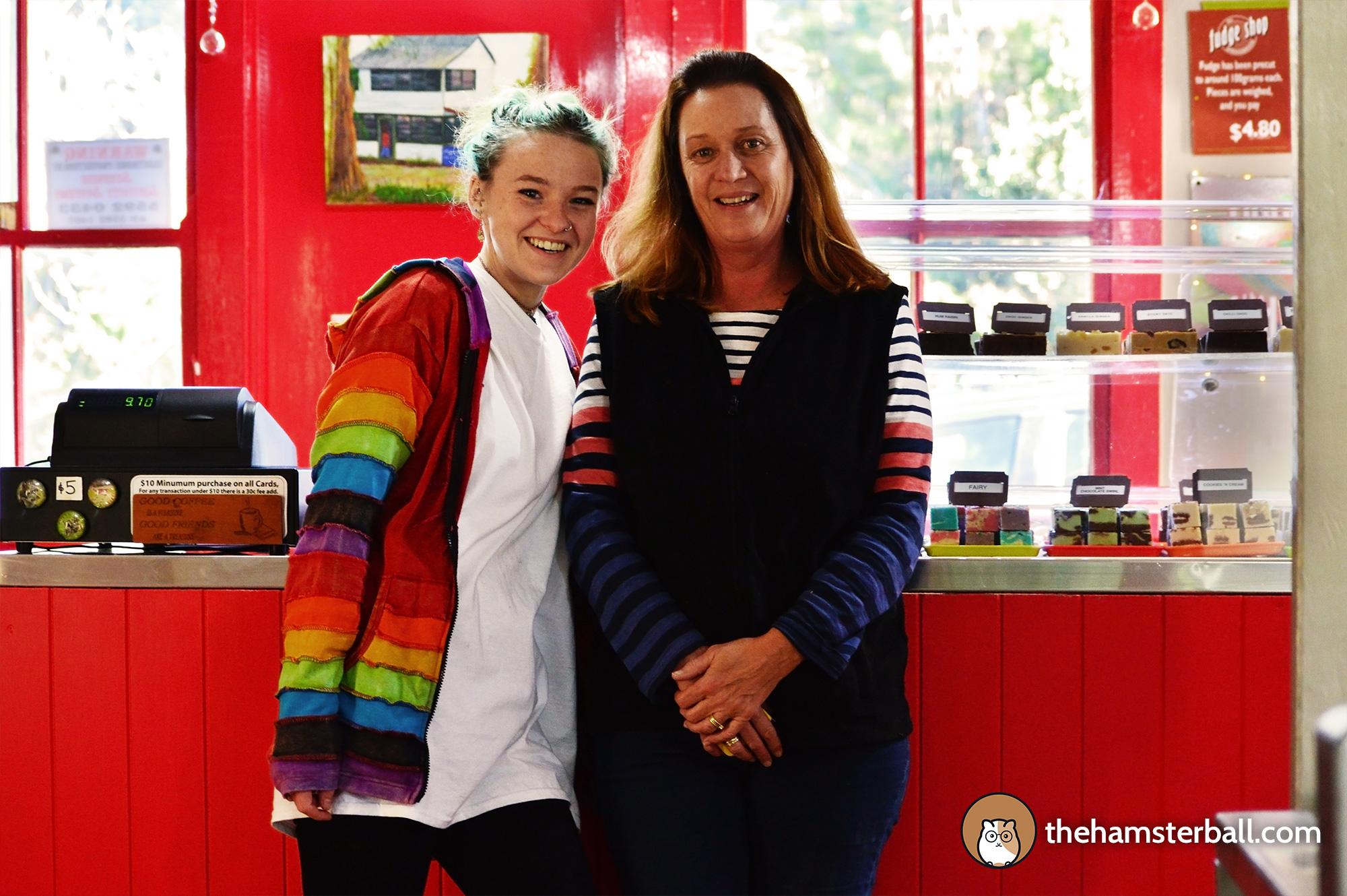 The Fudge Shop, Springbrook, Eco Sensitive, environment, colors, hosts