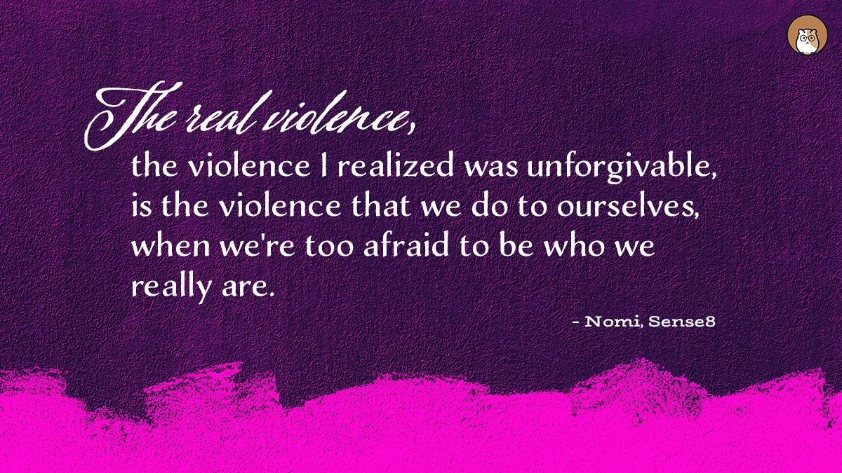 Nomi inspirational quote Sense8